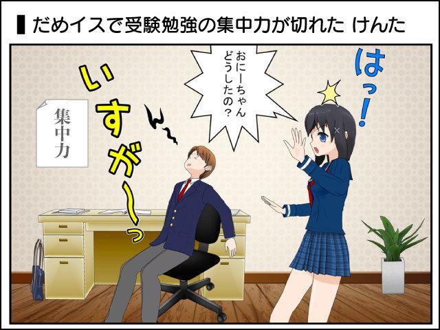受験勉強の集中力の秘訣は椅子にあった