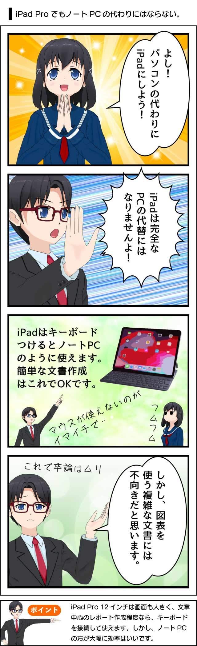 大学生はiPad ProがあればノートPCが不要なのか